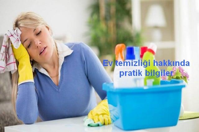 Ev temizliği hakkında pratik bilgiler önerisi, çekmece ve dolap temizliği, banyo temizliği, halı ve koltuk temizlikleri için pratik tavsiyeler