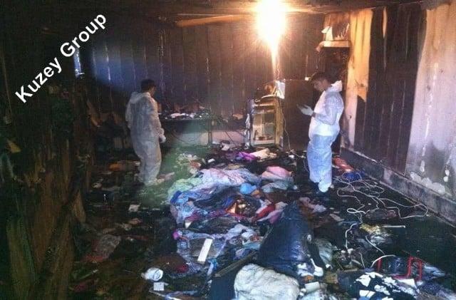Yangın sonrası temizlik, yanmış ev temizliği şirketi, İstanbul yangın temizlik firmaları